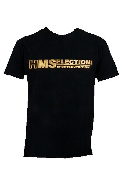 T-Shirt HMS Woman Schwarz/Gold
