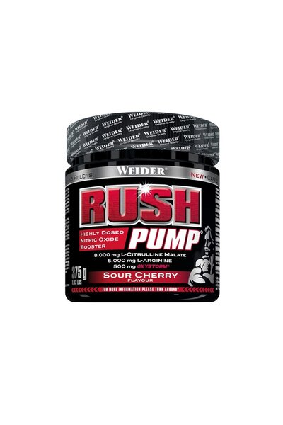Rush Pump Sour Cherry 375g